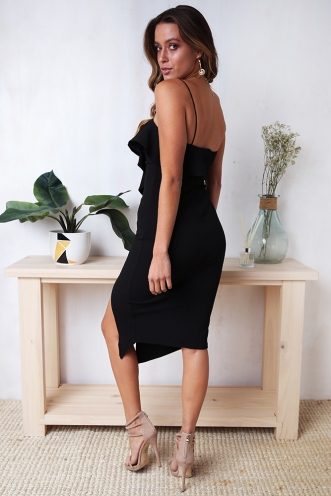 Micherine Dress - Black