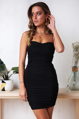 Light My fire Dress - Black