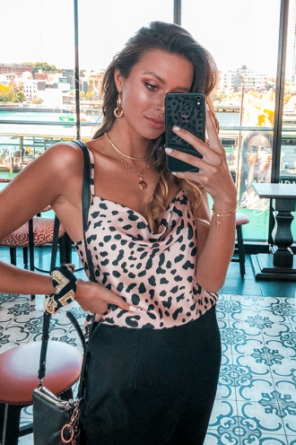 All About Me Top - Cheetah Print