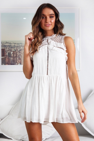 Katherine Dress - White