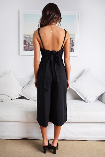 Claire Jumpsuit- Black