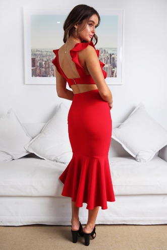 Make An Entrance Dress- Red