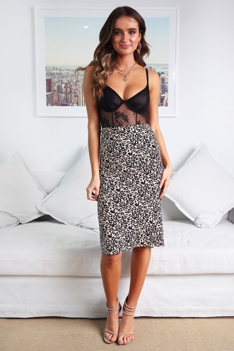 All Apologies Skirt - Leopard