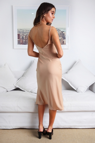 Street Lights Dress - Nude
