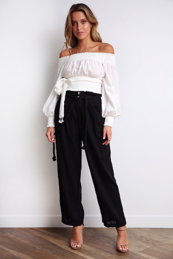 Sail Away Pants - Black
