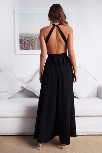 Vino Jumpsuit - Black