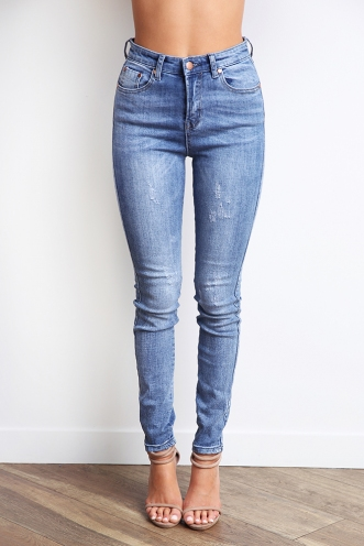 Forever Young Jeans - Blue