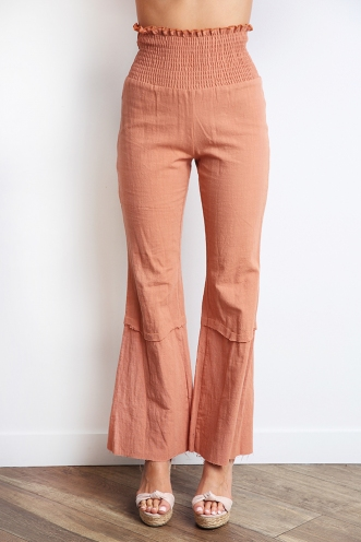 Tropical Survivor Pants - Rust