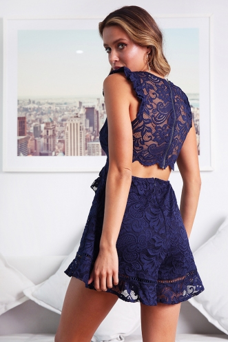 Julian Playsuit - Navy
