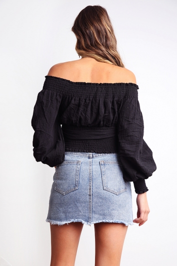 Lateisha Top - Black