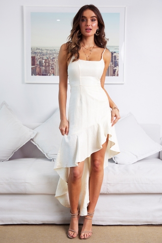Kara Dress - Cream