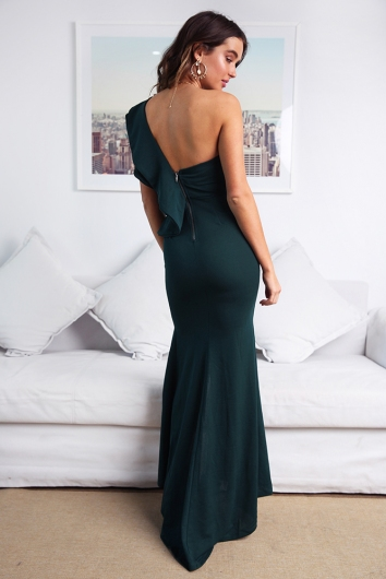 Ritika Dress - Forest Green