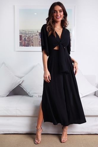 Janesha Jumpsuit - Black