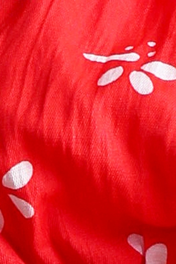 Miona Top - Red Print