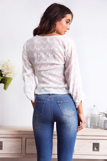 Coconut Fever Top - White