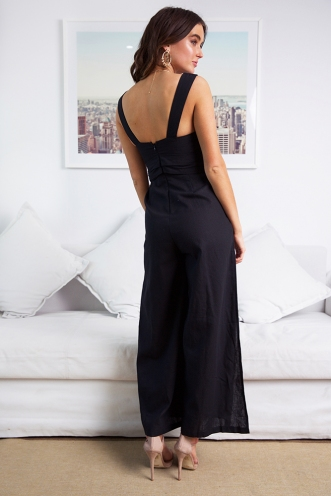 Game Drive Jumpsuit - Black