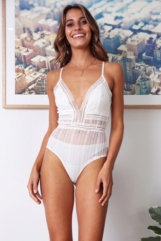 Shira Bodysuit - White