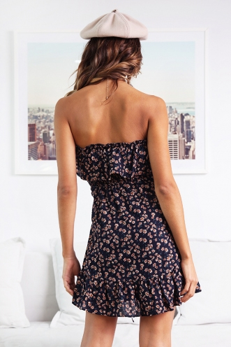 Oopsy Daisy Dress - Navy Floral