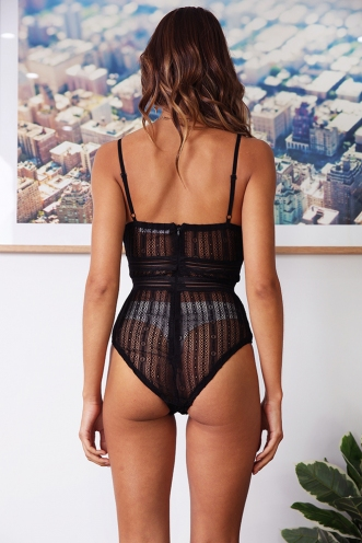 Shira Bodysuit - Black