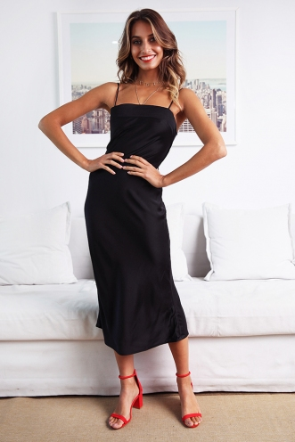 Davide Dress - Black