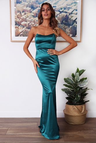 Grand Ballroom Dress - Jade