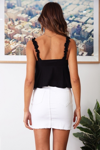 Down To Mississippi Top - Black