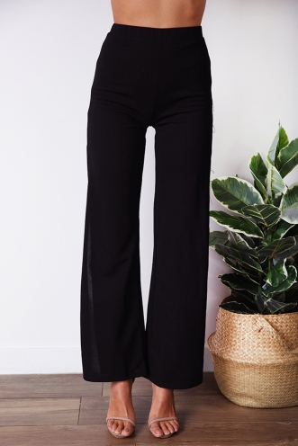 Wanted Pants - Black