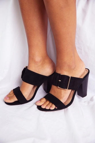 Billini - Plata - Black Suede