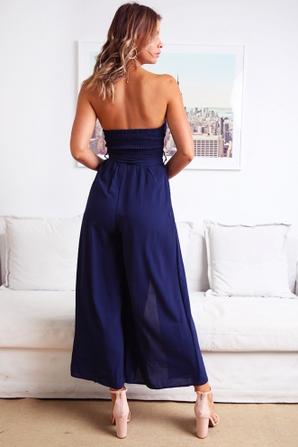 First Class Jumpsuit - Navy