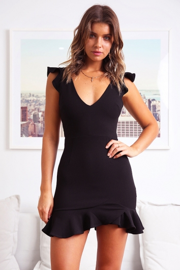Katrina Dress - Black