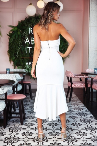 Samba In Spain Dress - White