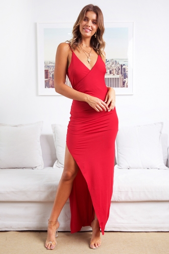 Madalyn Dress - Red