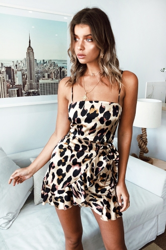 01182e5abcc7b Leopard Print Applebloom Dress  Leopard Print Applebloom Dress