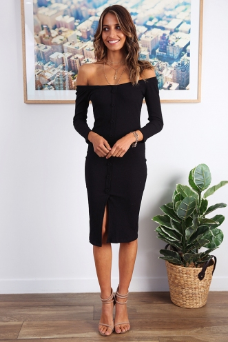 Monique Dress - Black