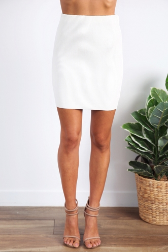 Abu Dhabi Dreaming Skirt - White