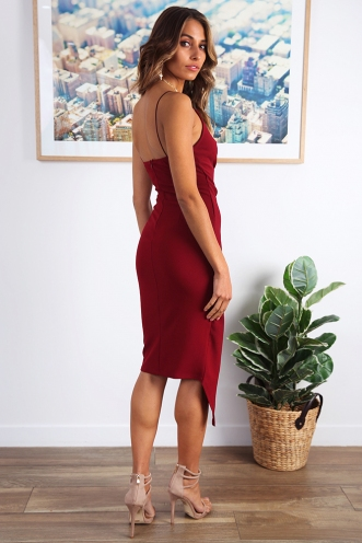 Cranachan Dress - Maroon