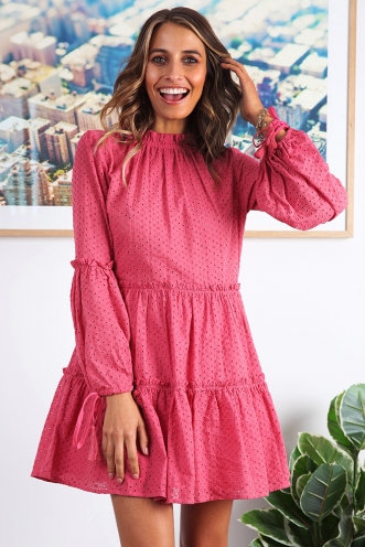 Tamika Dress - Rose