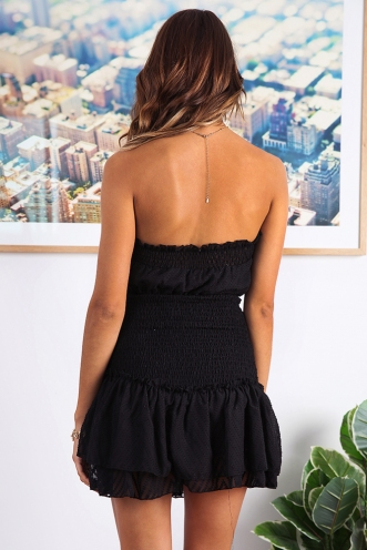 Sophia Playsuit - Black