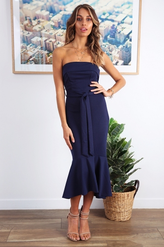 Love Affair Dress - Navy