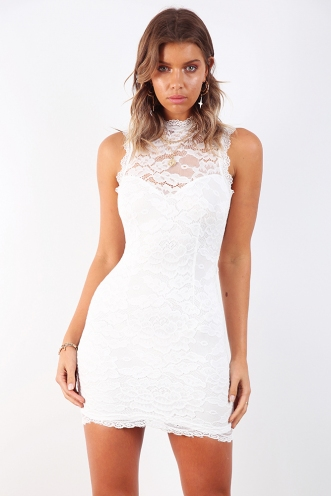The Real Me Dress - White