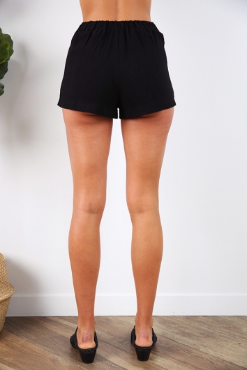 Closer to Me Shorts - Black