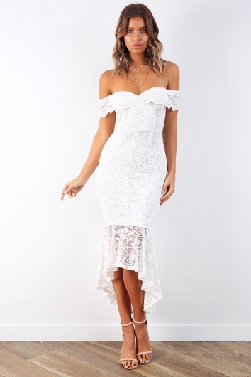 Baby Get Lost Dress - White