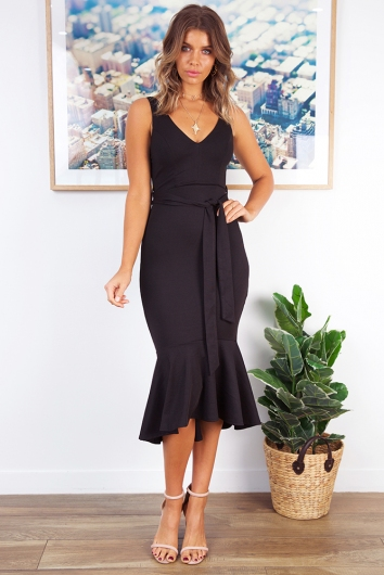 Be My Bby Dress - Black