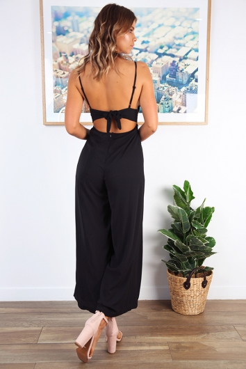 Makaia Jumpsuit - Black