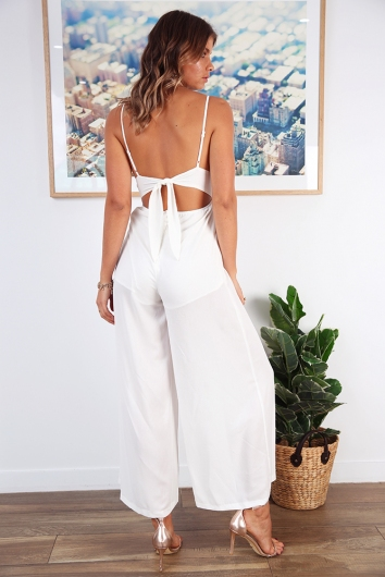 Makaia Jumpsuit - White