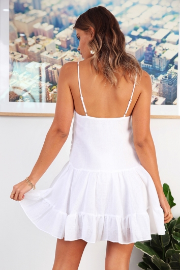 Beach Dress Blissful Days - White