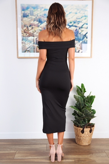 Mamma Mia Dress - Black