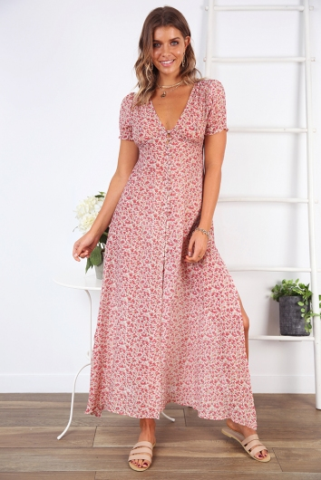 Hello Summer Cape- Pink Floral