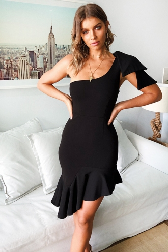 Unrequited Love Dress - Black