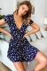 Blissful Days Dress - Navy Floral